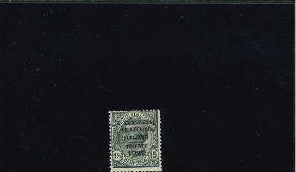Immagine di 124 - CONGRESSO FILATELICO 0.15 VAL. 1