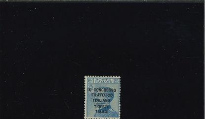 Immagine di 125 - CONGRESSO FILATELICO 0.25 VAL. 1