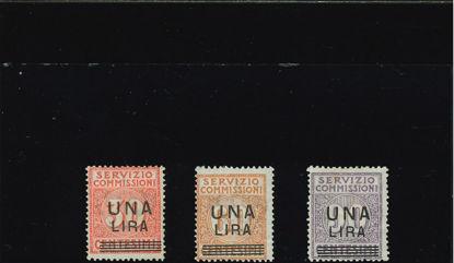 Immagine di 4 - .SERV.COMMISSIONI SOPRASTAMPATO  VAL. 3
