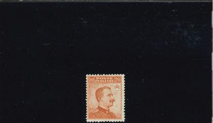 Immagine di 107 - V.EMANUELE III° DX SENZA FIL. 0.20 VAL. 1