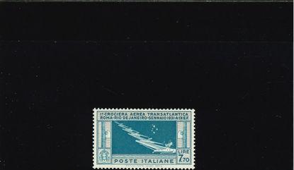 Immagine di 25 - CROCIERA TRANSATLANTICA GEN.BALBO 7.70 VAL. 1