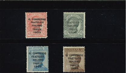Immagine di 123 - .CONGRESSO FILATELICO - TRIESTE  VAL. 4