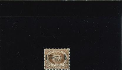 Immagine di 9 - STEMMA  5 c. su 30 bruno VAL. 1