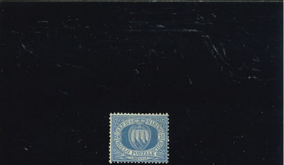 Immagine di 3 - STEMMA 10 c. oltremare VAL. 1