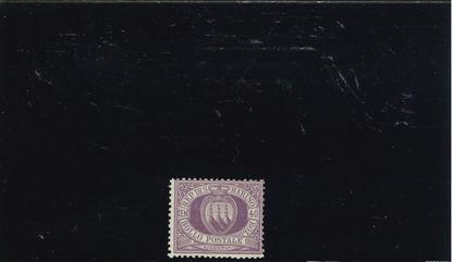 Immagine di 7 - STEMMA 40 c. lilla VAL. 1