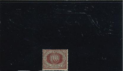 Immagine di 22 - STEMMA  5 L. carm. su verde VAL. 1