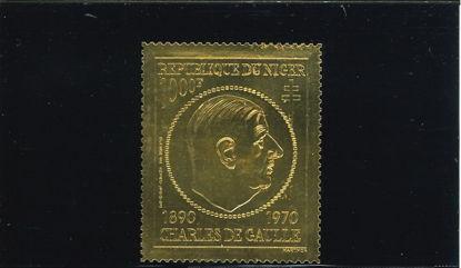Immagine di 148 - POLITICA: GENERALE DE GAULLE - ORO