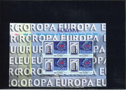 Immagine di 5598 - ANNIVERS. PRIMA EMISS. EUROPA (MICHEL)