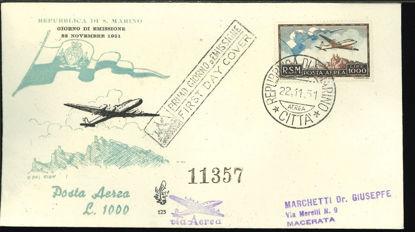 Immagine di 123 - P.A. £. 1.000  BANDIERA val. 1