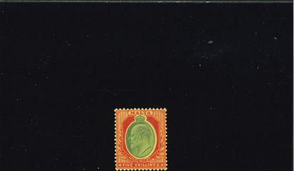 Immagine di 41 - EDOARDO VII 5 SH ROSSO VERDE