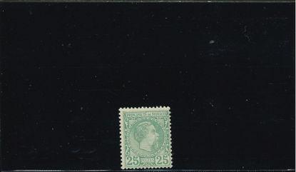Immagine di 6 - CARLO III 25 c VERDE