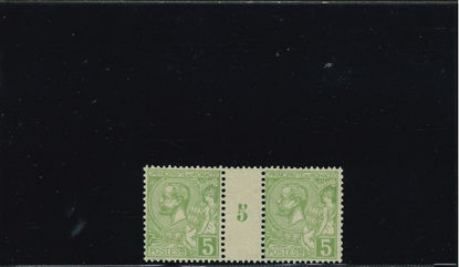 Immagine di 22 - ALBERTO I 5 cinterspazio con numero