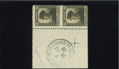 Immagine di 54c - ALBERTO I 25 coppia ND in mezzo (M)
