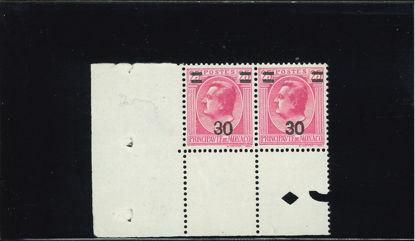 Immagine di 104 - 30/25 coppia di cui uno doppia sovrastampa