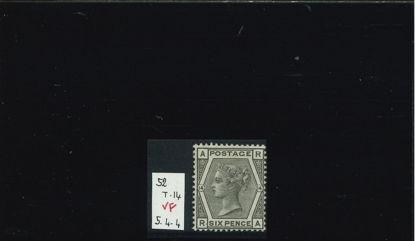 Immagine di 52 - NUOVI VALORI 6 p GRIGIO T14 VF