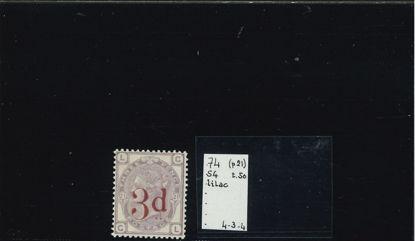 Immagine di 74 - SOVRASTAMPATO 3 d SU 3 p VF
