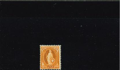 Immagine di 71 - ALLEGORIA 20 c. ARANCIO 66A 14 DENTI