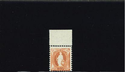 Immagine di 108 - ALLEGORIA 30 c. BRUNO GIALLO 96b 13 DENTI