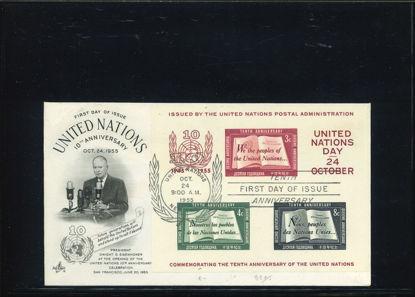 Immagine di 1 - NAZIONI UNITE SU FDC