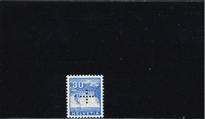 Immagine di 131 - CROCE PERFORATA 30 c AZZURRO