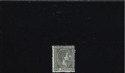 Immagine di 160 - ALFONSO XII 1 p NERO