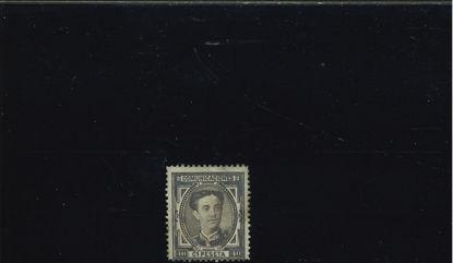 Immagine di 167 - ALFONSO XII 40 c. SEPPIA