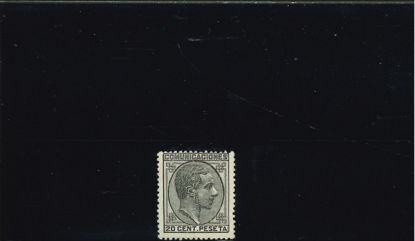 Immagine di 176 - ALFONSO XII DX 20 c NERO