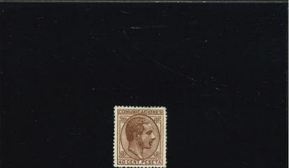 Immagine di 178 - ALFONSO XII DX 40 c BRUNO
