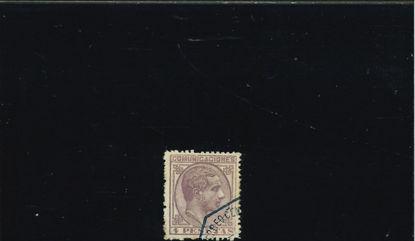 Immagine di 181 - ALFONSO XII DX 4 p VIOLETTO
