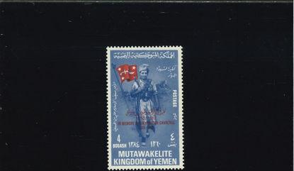Immagine di 166 - POLITICA W. CHURCHILL SOVRASTAMPATO