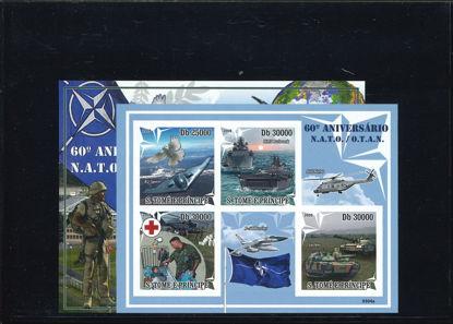 Immagine di 3046 - 60° ANNIV. NATO + BF 475