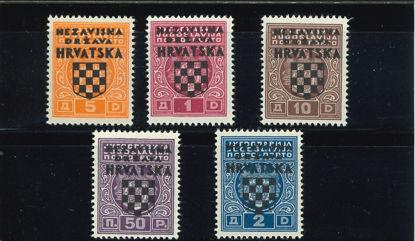 Immagine di 1 - TASSE JUGOSLAVIA SOVRAST.
