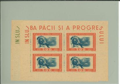 Immagine di 34 - AEREI BLOCCO DI 4 P.A.