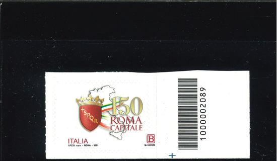 Immagine di ROMA CAPITALE 2021 SENZA B E CATANI CODICE A BARRE