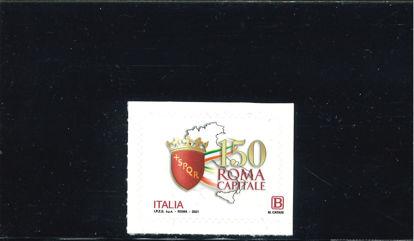 Immagine di ROMA CAPITALE 2021 CON B E CATANI SULLA DENTELLATURA