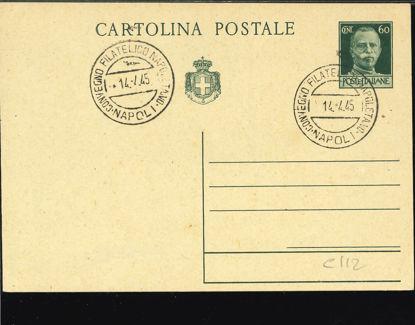 Immagine di 113 - CARTOLINA POSTALE -  C113