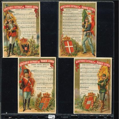 Immagine di 90 - INNI NAZIONALI 1° (8 fig.)-FRANCESE