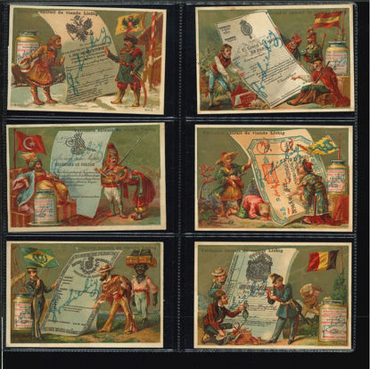 Immagine di 92 - PASSAPORTI DI VARIE NAZIONI (12 fig.)-FRANCESE