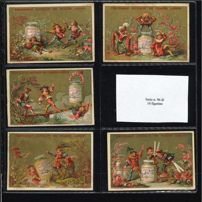 Immagine di 96 - SCENE IN COSTUMI TEDESCHI (10 fig.)-FRANCESE